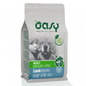 OASY DOG ADULT MEDIUM/LARGE KG.12 AGNELLO