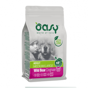 OASY DOG ADULT MEDIUM/LARGE KG.12 CINGHIALE
