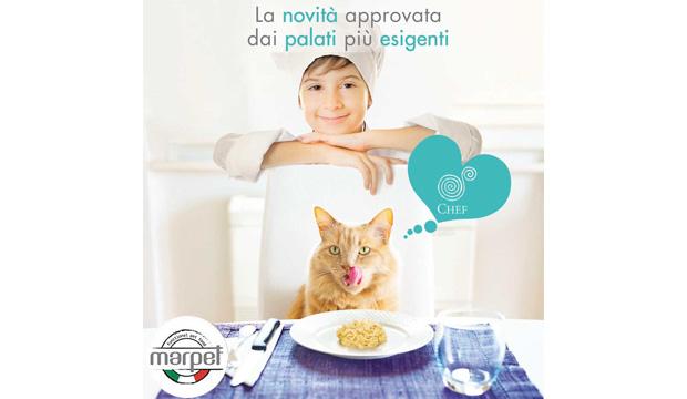 Novità: linea CHEF per gatti… approvata dai palati più esigenti!