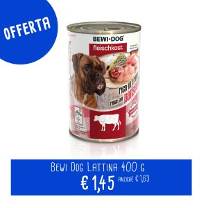 Bewi Dog Lattina 400 g