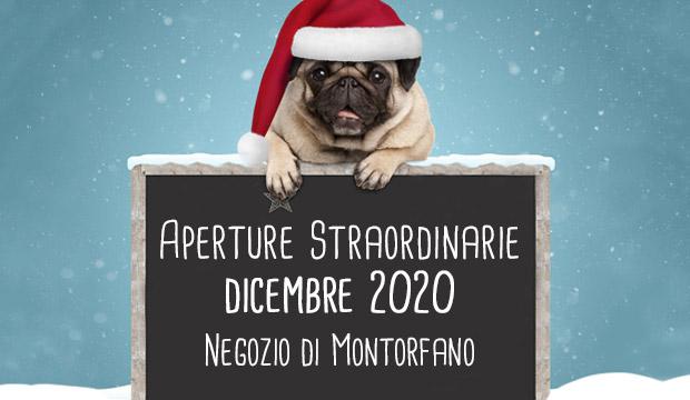Aperture Straordinarie dicembre 2020 negozio di Montorfano